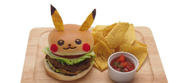 Pop-Up Tokyo Restaurant Serves Food Shaped Like Pikachu