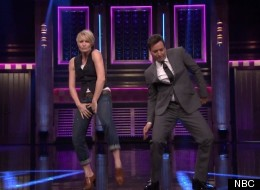Robin Wright And Jimmy Fallon 'Turn And Face The Music'