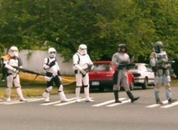 Storm Troopers Abbey Road