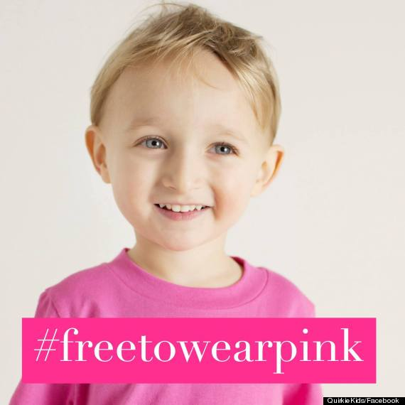 Social Media Campaign Freetowearpink Is Challenging