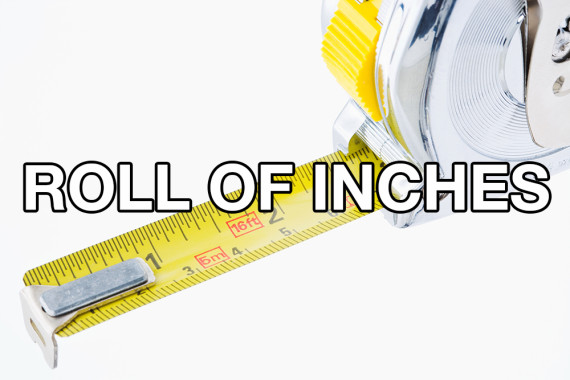 roll of inches