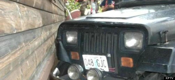 Toddler Runs Home To Watch Cartoons After Crashing Jeep
