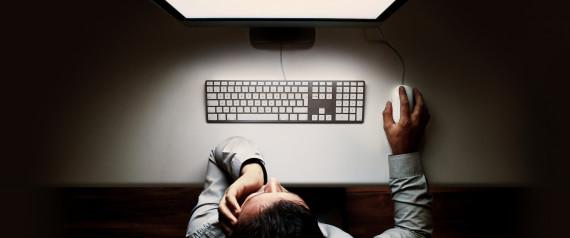 COMPUTER AT NIGHT