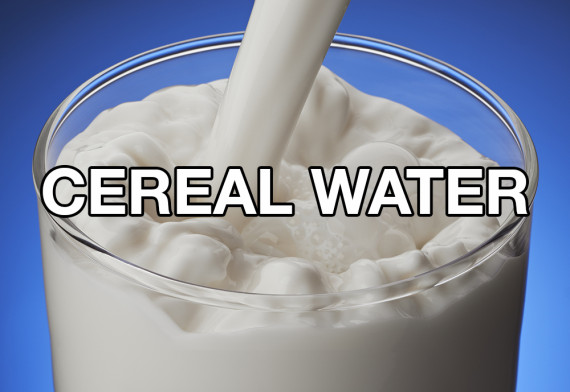 cereal water