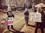 This Couple's Response To Pro-Life Protesters Couldn't Be Better