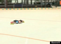 Watch This 6-Year-Old 'Limbo Skate' And Effortlessly Glide Under 39 Cars