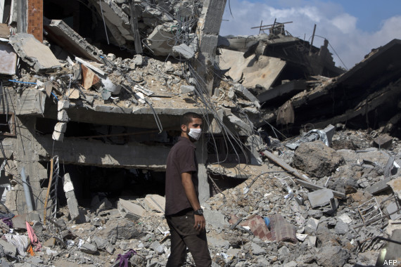 ruines conflit gaza