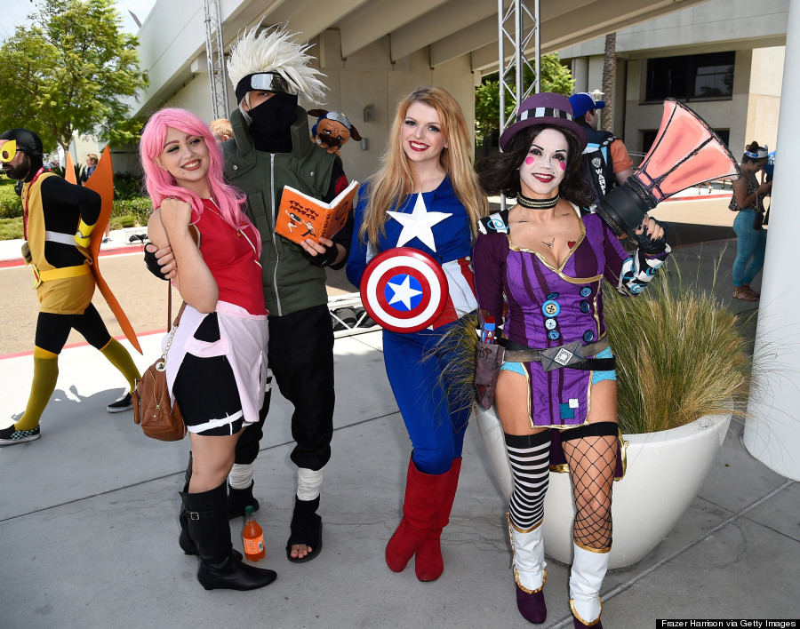All The Awesome Cosplay From Comic Con 2014 So Far Huffpost