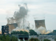 Watch The Moment Power Station Towers Were Blown Up
