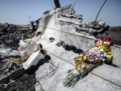 MH17 crash site