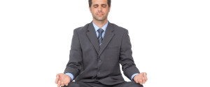 Meditation Businessman