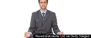 MEDITATION BUSINESSMAN