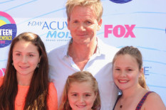 Gordon Ramsay with Tilly (below)