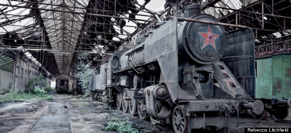13 Haunting Pictures Of Former Cold War Majesty