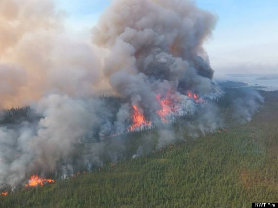 yellowknife fires