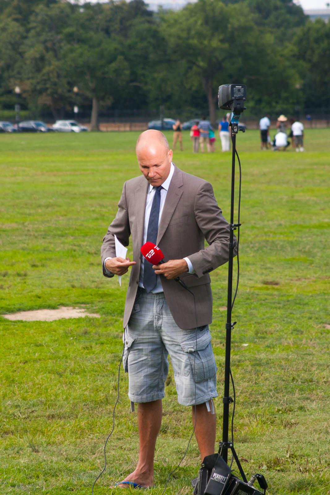 reporter shorts