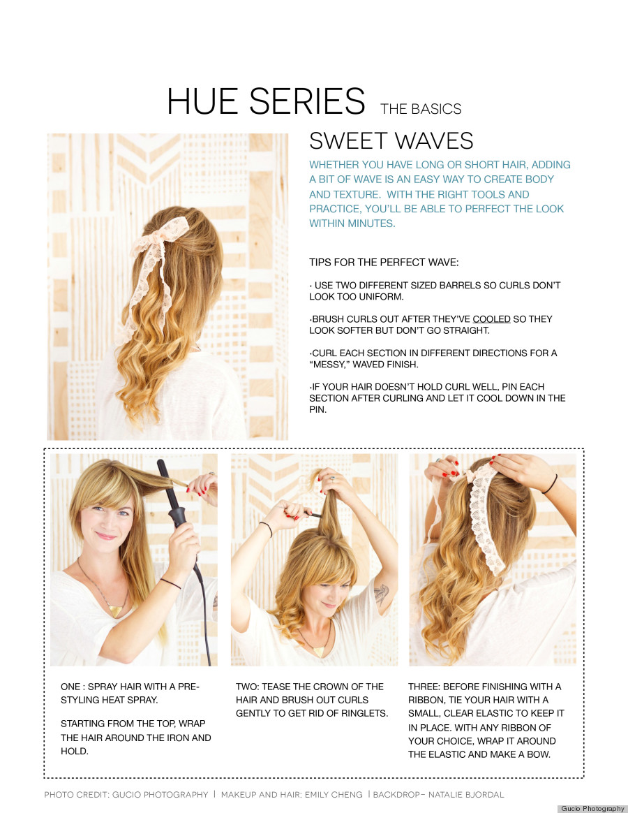 hair waves tutorial