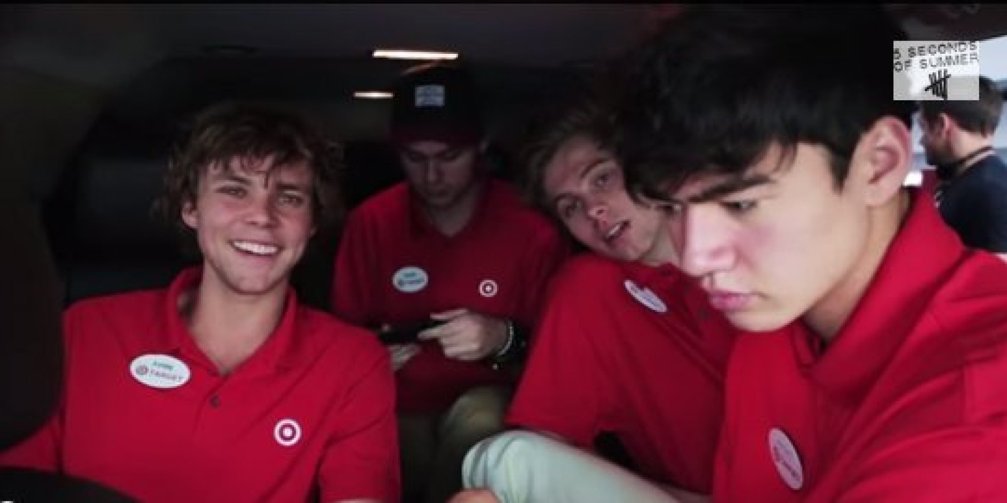 5 Seconds Of Summer Pose As Target Employees In Hilarious Prank Whats New