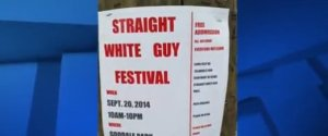 Straight White Guy Festival