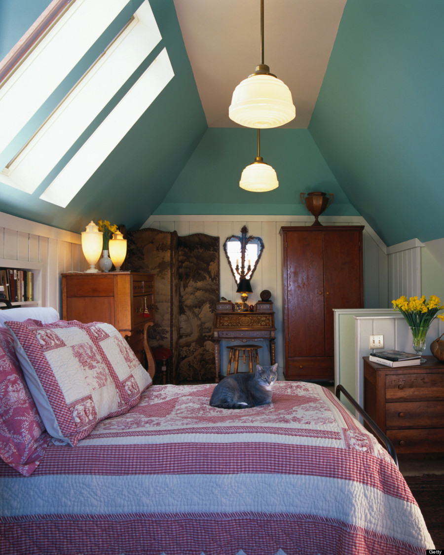 9 Ways To Use Your Attic That Have Nothing To Do With Storage Huffpost