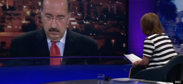 Kirsty Wark Subjects Dore Gold To A Testy Newsnight Interview Over Gaza Child Deaths