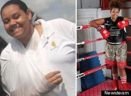How Boxing Helped Overweight Teen Girl, Who Weighed 19 Stone Aged 10, Lose Seven Stone