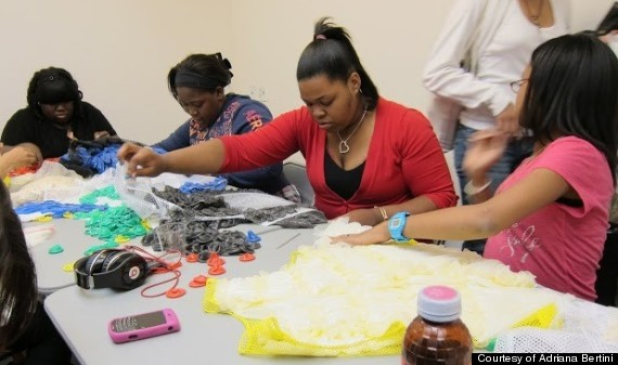 condom dresses workshop