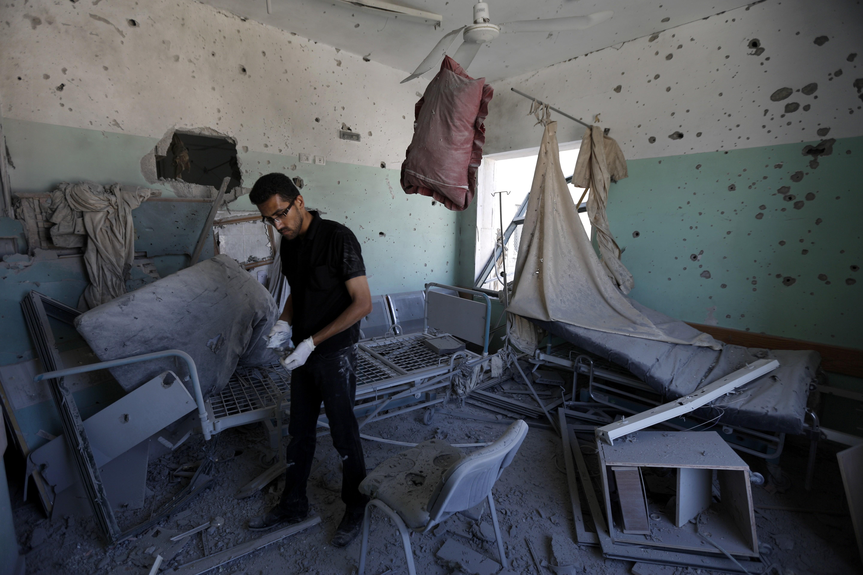 hospital balah gaza 2014