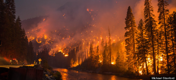 This Photo Shows The Raw Power Of A Raging Wildfire