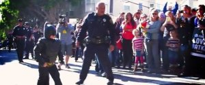 Batkid Crowds