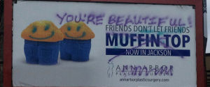 Muffin Top Billboard
