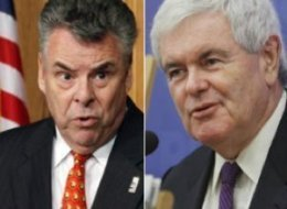 Peter King Newt Gingrich