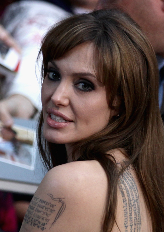 Angelina Jolie Bangs Salt. After premiering #39;Salt#39; in the