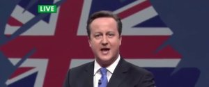 David Cameron Fracking Greenpeace