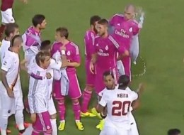 WATCH: Pepe Involved In A Row BEFORE Kick-Off (Video)