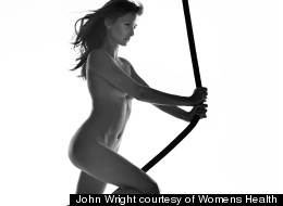 Millie Mackintosh Strips Naked For Women's Health