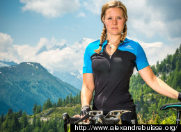 This Incredible Woman Will Be The First Person To Ever Cycle The Whole Length of The Alps