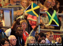S**t? Bolt Clearly Loves The Commonwealth Games