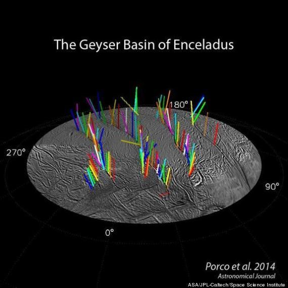 enceladus geyser