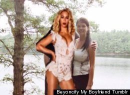 Girl Photoshops Beyoncé Pictures Over Her Ex-Boyfriend's Face