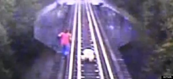 LOOK: Here's What Happens When You Fool Around On Train Tracks