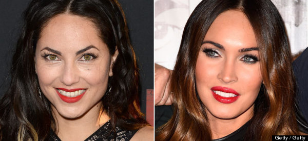 BÁRBARA MORI Y MEGAN FOX: ¿HERMANAS?