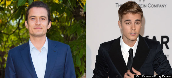 Beliebers Really Aren't Happy With Orlando Bloom
