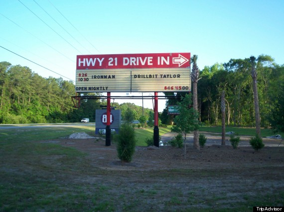 highway 21 drive in