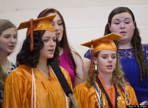 high school choir graduation