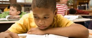 Black Student Reading