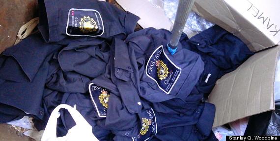 cbsa uniforms vancouver