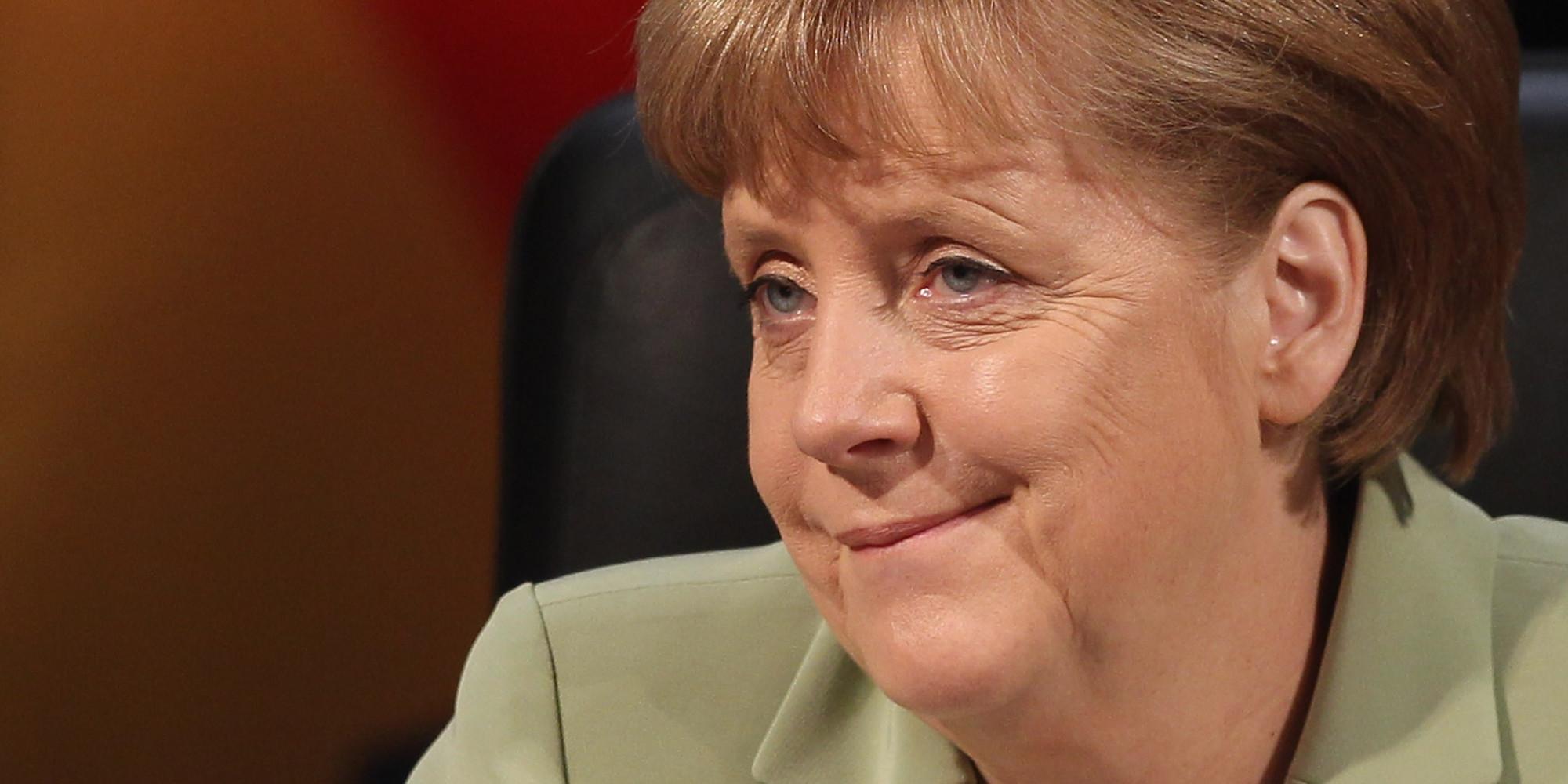 ... amusent vraiment avec cette PHOTO de Barack Obama et d'Angela Merkel