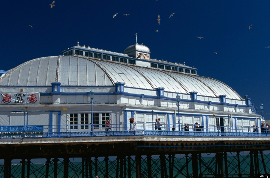 Eastbourne Pier Fire Heartbreaking Before And After
