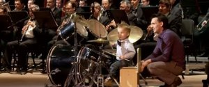 Little Boy Drums Orchestra
